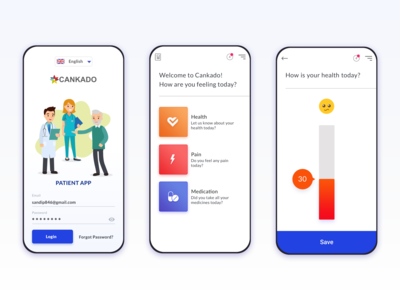Healthcare App UI
