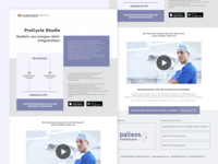 Landing Page For Healthcare Event