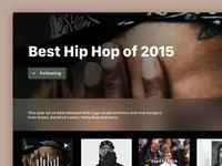 DailyUI #63: Best Of 2015