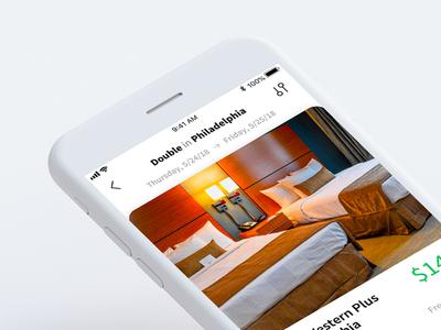 DailyUI #67: Hotel Booking