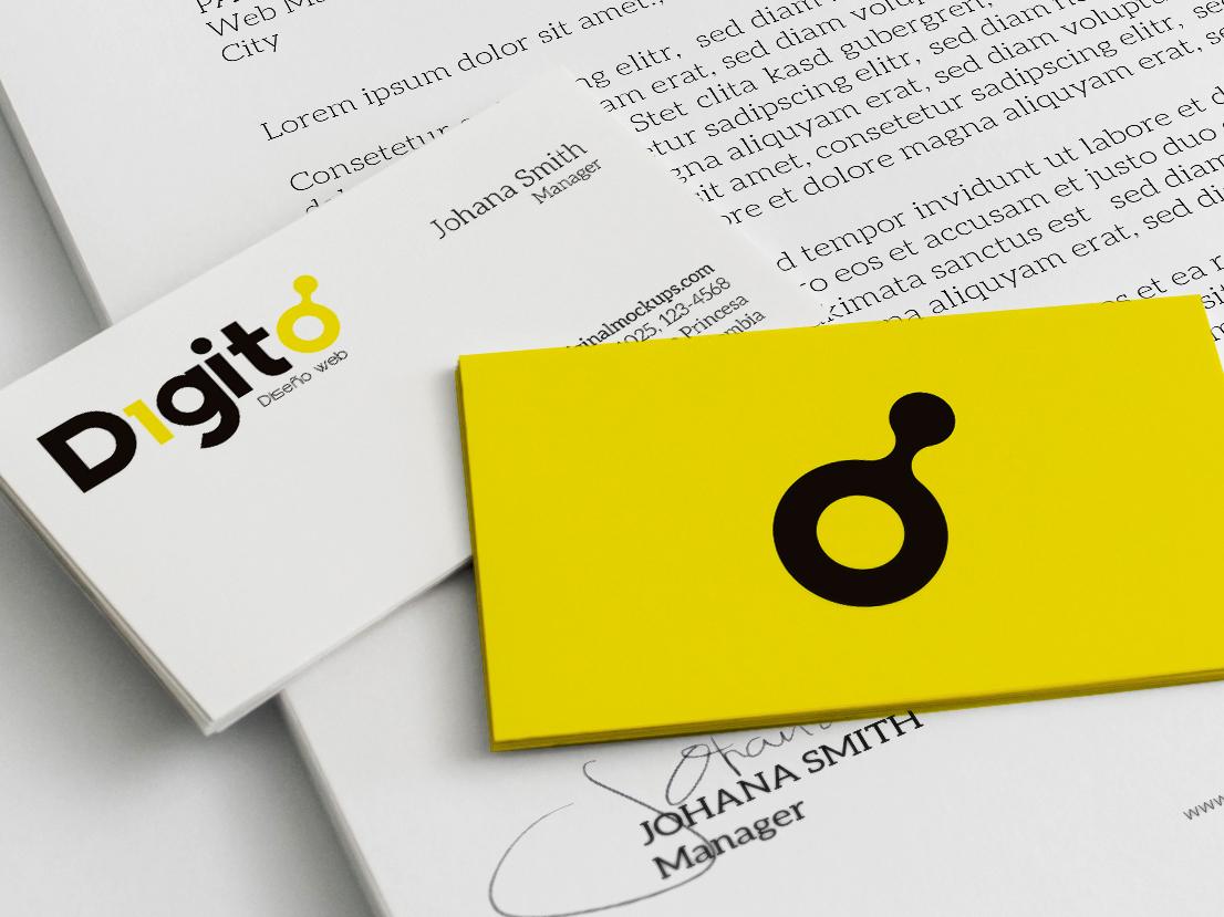 Digito   Web Design app icon ux ui graphic design brand web logotype clean illustrator identity illustration typography type logo branding vector minimal flat design