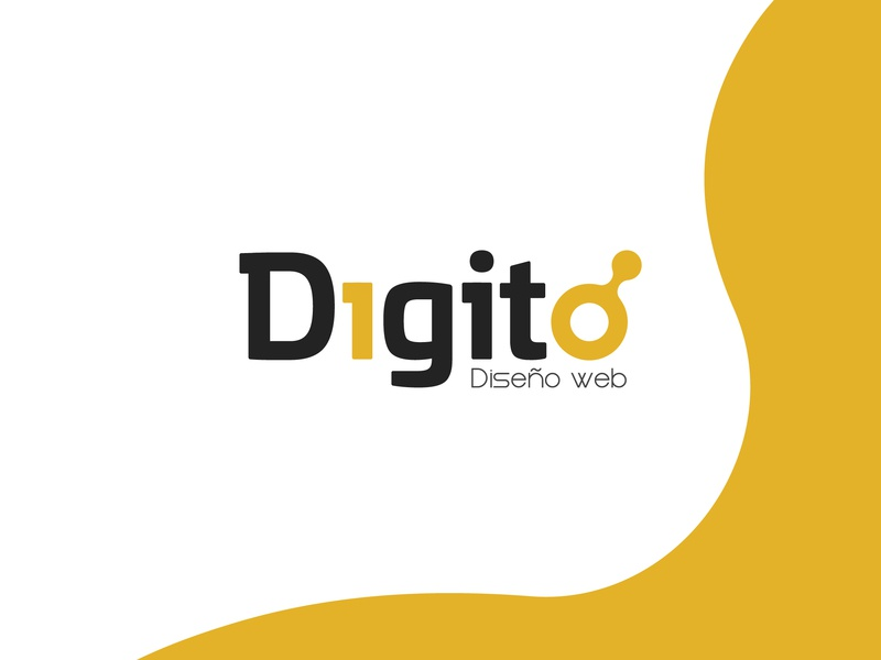 Digito. Rebrand | Web Design icon app ux ui graphic design brand web logotype clean illustrator identity illustration typography type logo branding vector minimal flat design
