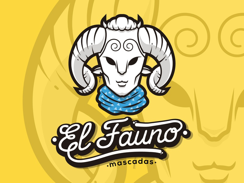 El Fauno Brand art lettering character animation graphics graphic design brand clean logotype illustrator identity illustration typography type logo branding vector minimal flat design