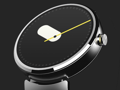 Android Wear – Stadium ustwo stadium moto360 face watch wear android google time smartwatch ui clock