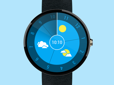 Android Wear – Runway ustwo runway moto360 face watch wear android google time smartwatch ui clock