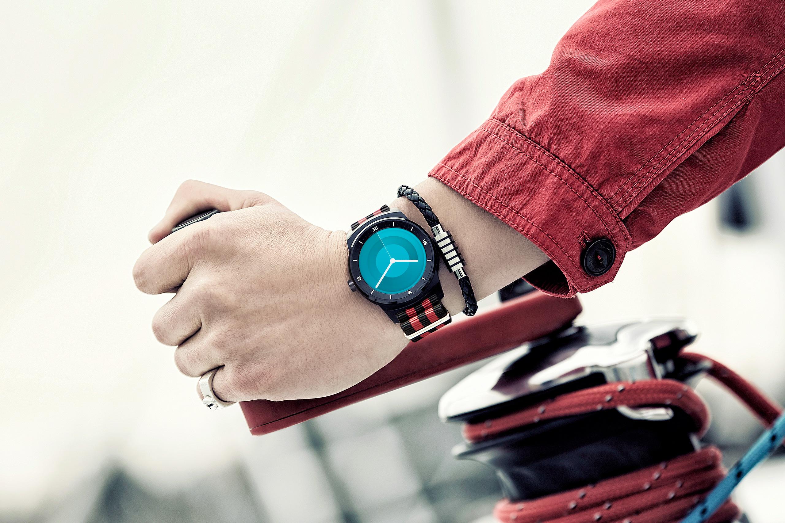 Hand watch slide