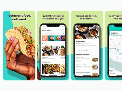 Deliveroo App Screenshots