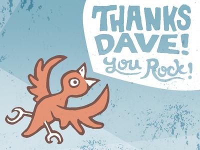 Thanks Dave!
