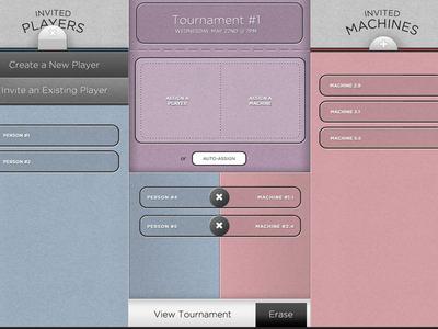 iPad Drag & Drop Interface