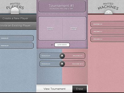 iPad Drag & Drop Interface ipad ui