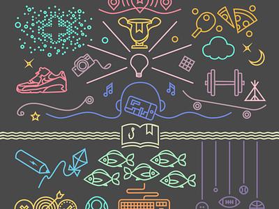 Illustrations for Boys & Girls Clubs of America illustration