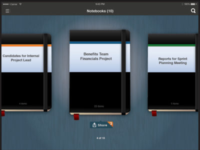 Workday Notebooks on iPad (Release 20)