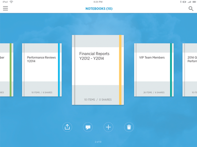 Workday Notebooks on iPad (Release 23)