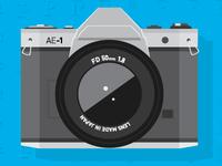 Camera AE-1