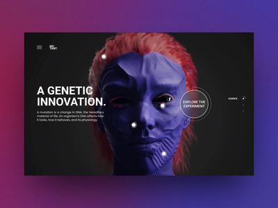 Digital Human Transformation Concept 3d animation 3d modeling 1shot experience design webgl