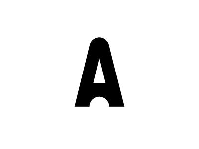 A letter for Amélie veramatys litera typo letter a mark laber logotype logo