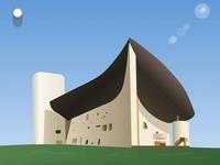 Colline Notre Dame du Haut