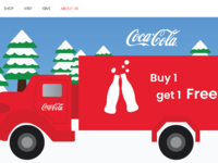 Special offer cocacola