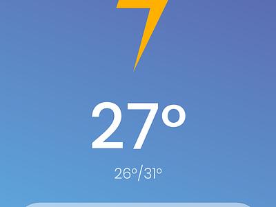 Daily UI 037 - Weather temperature rain ufo weather icon weather app dailyui 037 weather aliens alien flat gradual change mobile vector branding app dailyuichallange illustration ux ui dailyui