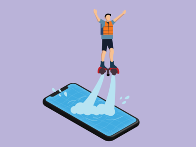 Flyboard Mobile Pool