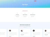 Standard Service Page for Dyno Html Template