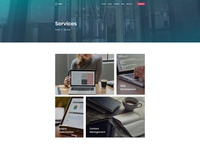 Agency Service Page for Dyno Html Template