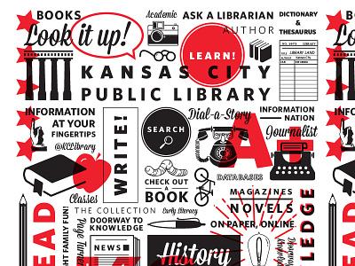 KCPL Pattern learn knowledge books library pattern