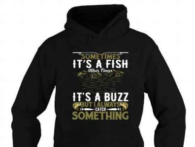 Sometimes it's a fish fishing hoodie design funny fisherman bassfish bass complex cool gift fishing t-shirt fishing fish