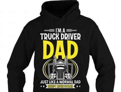 TRUCK DRIVER DAD T-SHIRT complex funny cool gift truckerlife trucks trucking trucklovers truckerman truckdriver trucker truck