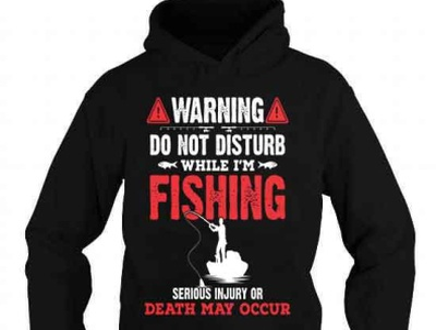 Do not disturb while i'm fishing t-shirt complex funny cool gift bassfishing bass fishinglife fishingtime fishinglovers fishers fisherman fishing fish