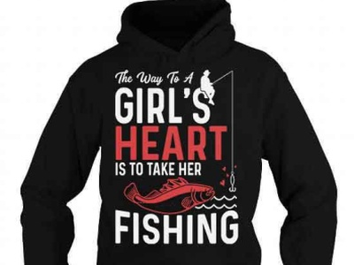 THE WAY TO A GIRL'S HEART T-SHIRT complex funny cool gift bassfishing bass fishinglife fishingtime fishinglover fishergirls fishers fisherman fishing fish