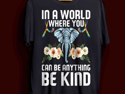 autism t-shirt design