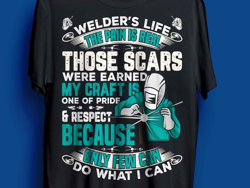 welder t-shirt design complex welding welder