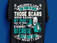 welder t-shirt design