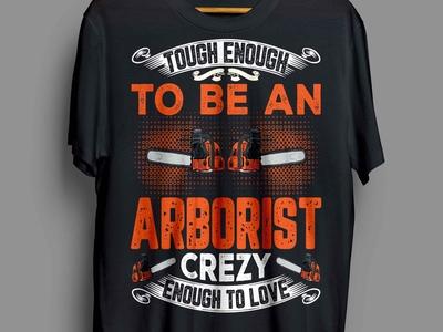 Arborist t-shirt design