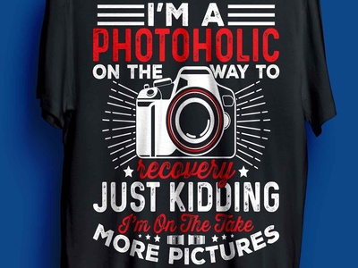 Photographic t-shirt design