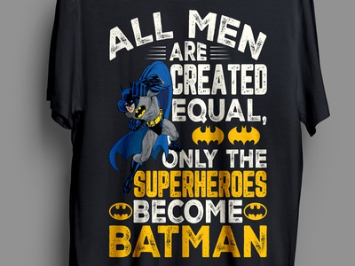 Batman T-shirt design