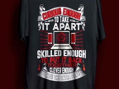 computer & cell phone repair t-shirt design