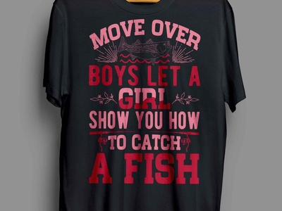 MOVE OVER BOYS T-SHIRT DESIGN