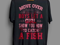 MOVE OVER BOYS T-SHIRT DESIGN