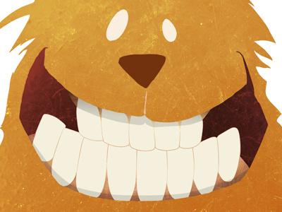 Say Cheese illustration animals cat texture smile children kids