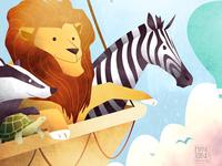 The Great Animal Balloon Race