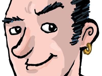 Portrait of an author illustration vera childrens book portrait author