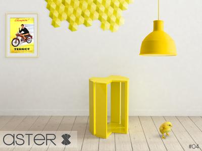 Aster - stool design