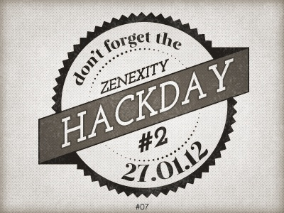 7 hackday stamp