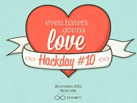 Even haters gonna love Hackday #10