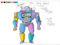 Mega Power Suit Colorstudy
