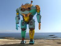 Final 3d Modeled Mega Power Suit