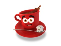 Cup Of Cocoa Dribbble