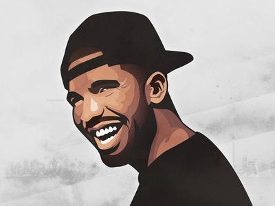 Drake illustration portrait drake drizzy